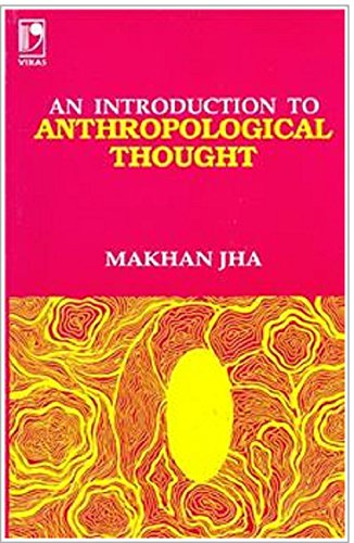 9780706922462: Introduction to Anthropological Thought