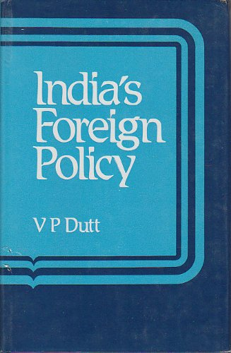 9780706926576: India's Foreign Policy