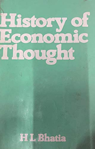 9780706929416: History of Economic Thought