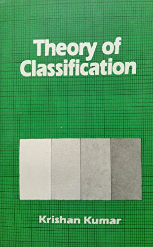 9780706937961: Theory of Classification