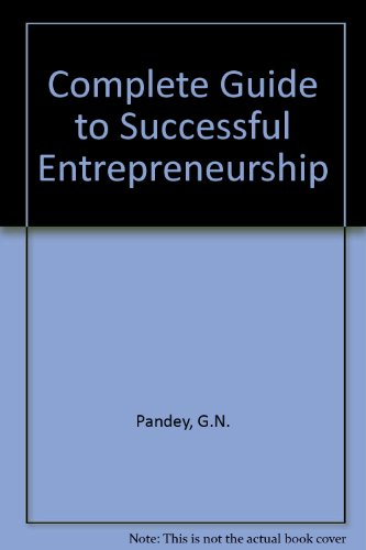 9780706970562: Complete Guide to Successful Entrepreneurship
