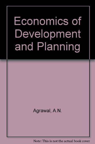 9780706971385: Economics of Development and Planning