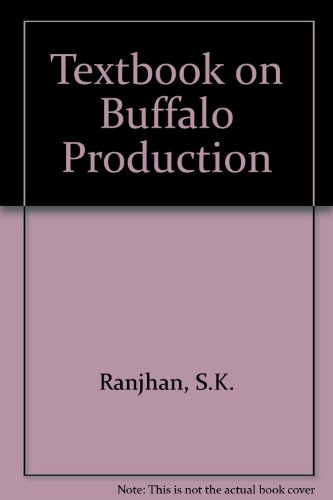 9780706972351: Textbook on Buffalo Production