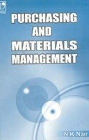 9780706979398: Purchasing And Materials Management
