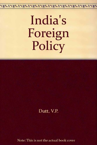 9780706984538: India's Foreign Policy