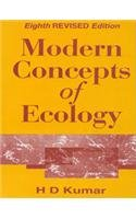 9780706986761: Modern Concepts of Ecology