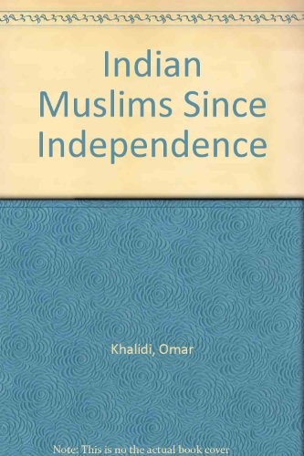 9780706995701: Indian Muslims Since Independence