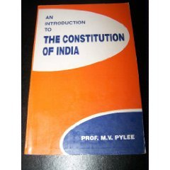 9780706997187: An Introduction to the Constitution of India