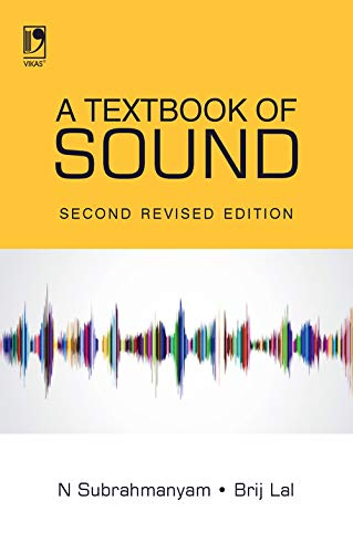 9780706998177: A Textbook of Sound