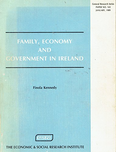 9780707001067: Family, Economy and Government of Ireland (General research)