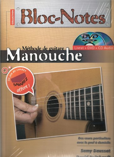 9780707006574: Bloc Notes Guitare Manouche Pac DVD+CD+Jeux de Cordes