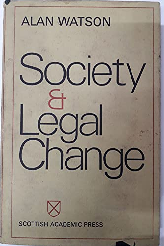 9780707301372: Society and Legal Change