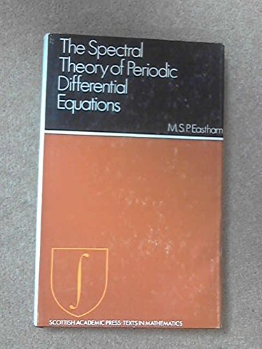 9780707302133: Spectral Theory Of Periodic Differential Equations