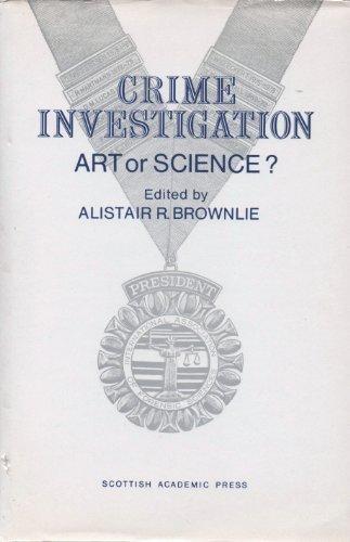 Crime Investigation: Art or Science? : Patterns