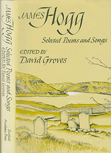 9780707304717: Selected Poems and Songs (Scottish Literary Studies)