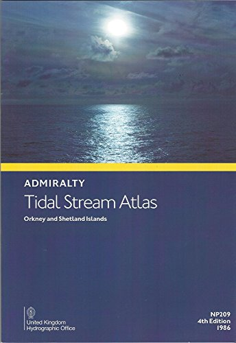 9780707721323: Admiralty Tidal Stream Atlas: NP209: Orkney and Shetlands