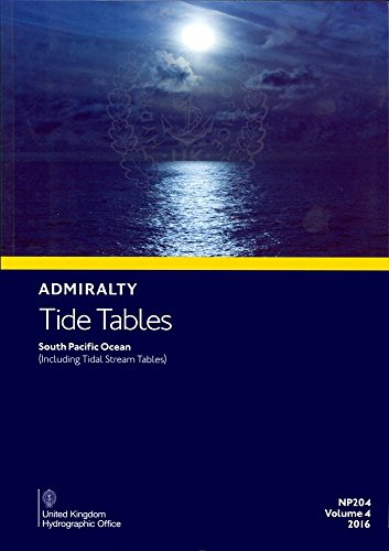 9780707721651: Admiralty Tide Tables - South Pacific Ocean: Vol. 4