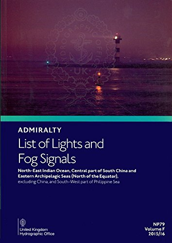 9780707723457: List of Lights: Indian Ocean and South East Asia: Volume F (Admiralty List of Lights)