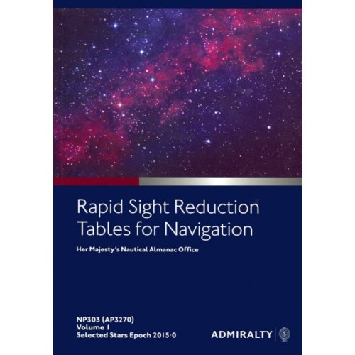 9780707741338: Rapid Sight Reduction Table: v. 1 (Admiralty Celestial Publications)
