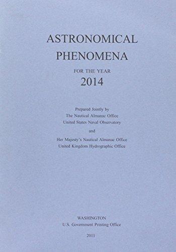 9780707741345: Astronomical Phenomena 2014 (Admiralty Celestial Publications)