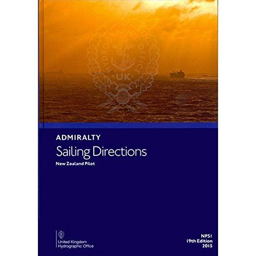 9780707743622: New Zealand Pilot (Admiralty Sailing Directions)