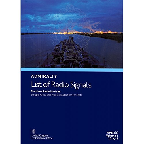 9780707744063: Maritime Radio Stations (Europe, Africa & Asia - Excluding the Far East): Part 1 (Admirlaty Radio Signals)