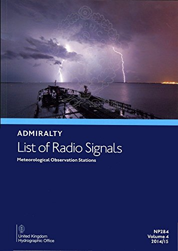 Meterological Observation Stations (Admiralty List of Radio