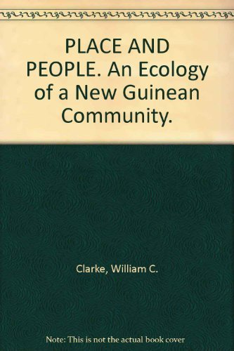 9780708101292: Place and people;: An ecology of a New Guinean community