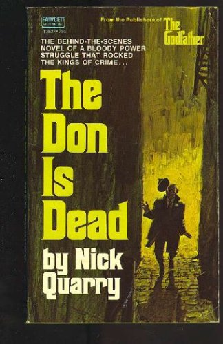 9780708200278: The Don is Dead