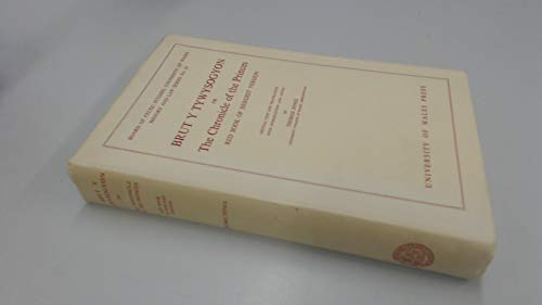 9780708301043: Brut y Tywysogion, or Chronicle of Princes: Red Book of Hergest Version (History & Law)