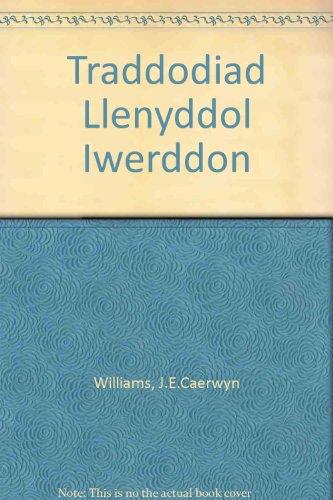 Traddodiad Llenyddol Iwerddon.: Williams, Caerwyn