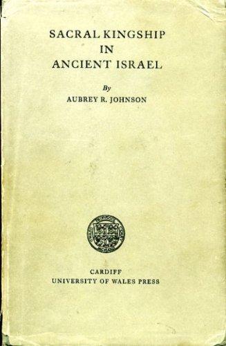 9780708303443: Sacral Kingship in Ancient Israel