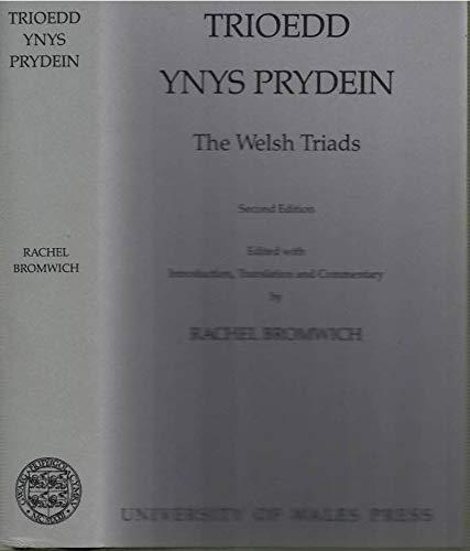 9780708306901: Trioedd Ynys Prydein: The Welsh Triads (English and Welsh Edition)