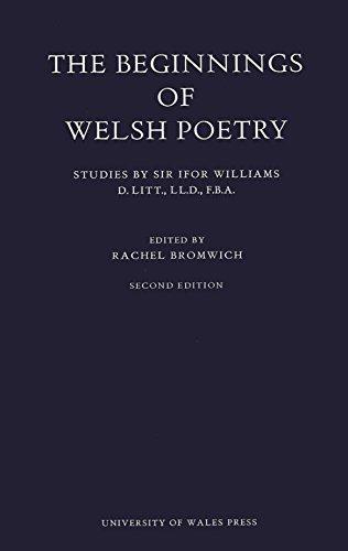 9780708307441: Beginnings of Welsh Poetry