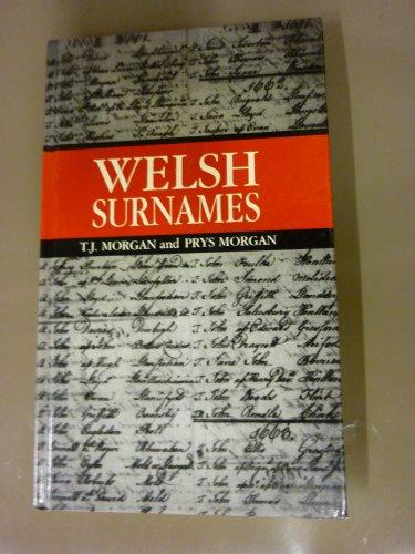 9780708308806: Welsh Surnames