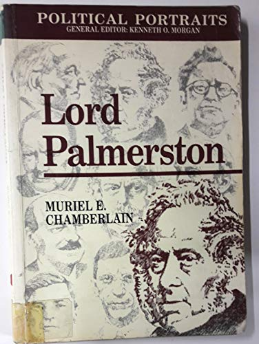 9780708309735: Lord Palmerston (Political Portraits)