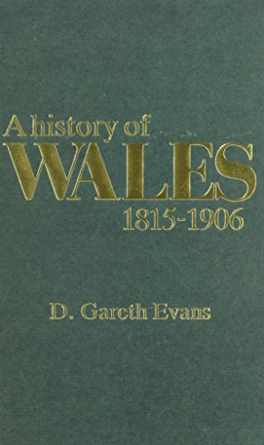 9780708310274: A History of Wales, 1815-1906 (Welsh history text books)