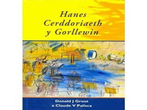 Hanes Cerddoriaeth y Gorllewin (Welsh Edition): Donald Jay Grout