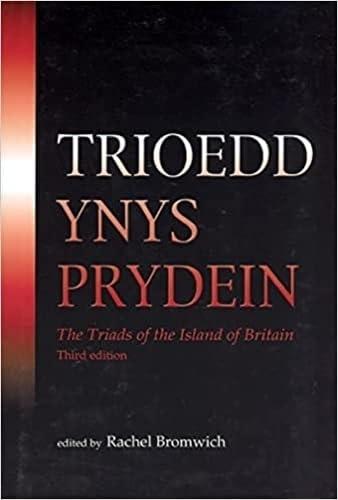 9780708313862: Trioedd Ynys Prydein: The Triads of the Island of Britain