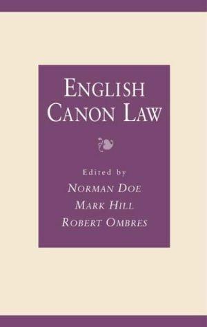 9780708314784: English Canon Law