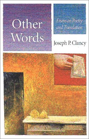 9780708315583: Other Words: Essays on Poetry and Translation