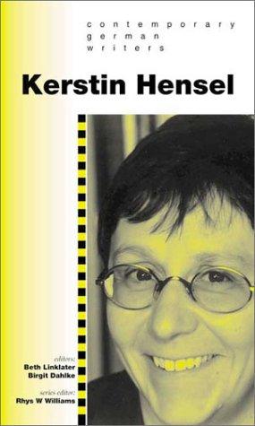 9780708317785: Kerstin Hensel (Contemporary German Writers)