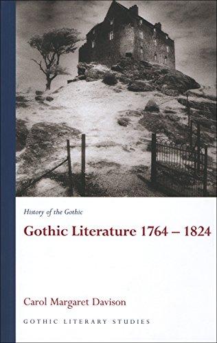 9780708320099: History of the Gothic: Gothic Literature 1764-1824 (Gothic Literary Studies) (v. 1)