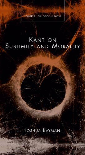 9780708321256: Kant on Sublimity and Morality (Political Philosophy Now)