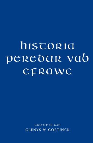 9780708326206: Historia Peredur Vab Efrawc (Welsh Edition)
