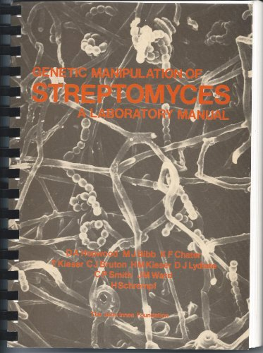 9780708403365: Genetic manipulation of Streptomyces