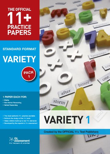 9780708703823: 11+ Practice Papers, Variety Pack 1, Standard (Official 11+ Practice Papers)