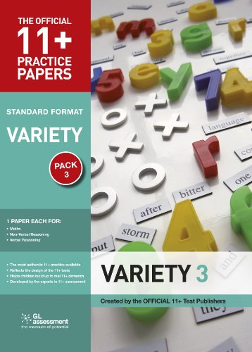 11+ Practice Papers, Variety Pack 3 (Go Practice): GL Assessment