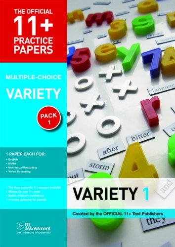 9780708703908: 11+ Practice Papers, Variety Pack 1, Multiple Choice (Official 11+ Practice Papers)