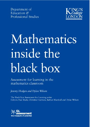 MATHS INSIDE THE BLACK BOX (Paperback)